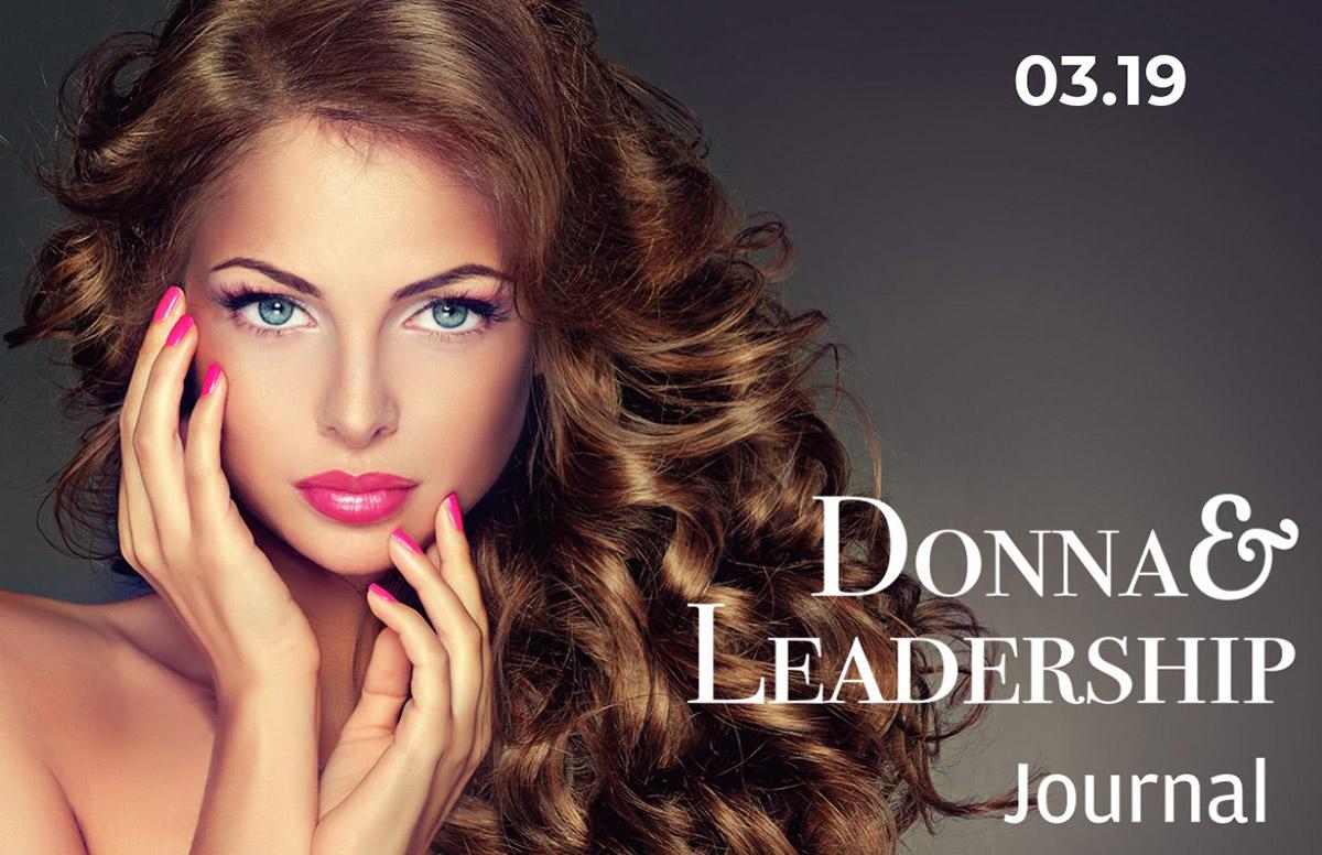 Copertina Journal D&L 03-19 donna capelli fluenti