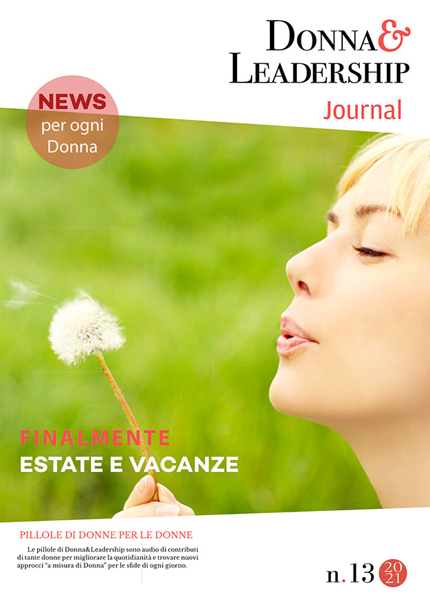 copertina donna bionda d&l journal 13.21