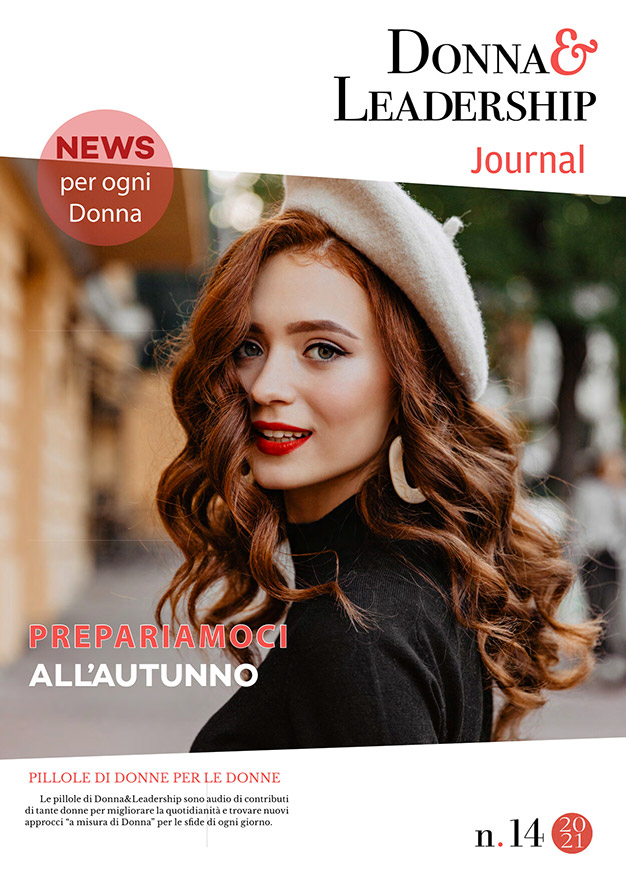 copertina donna mora con cappella d&l journal 14.21